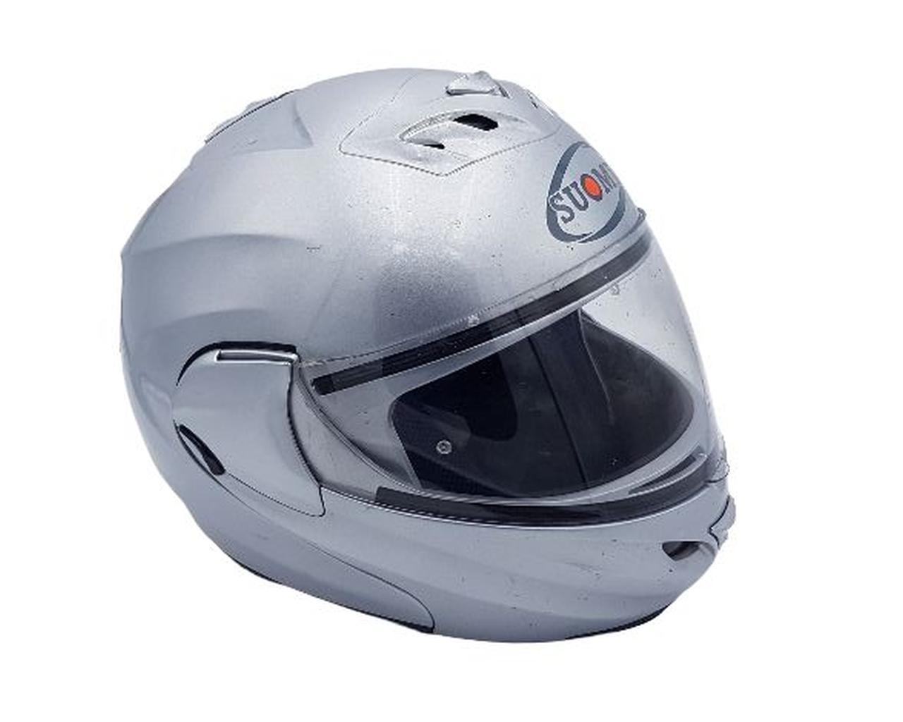 CASCO MOTO MODULARE SUOMY TG. S - USATO